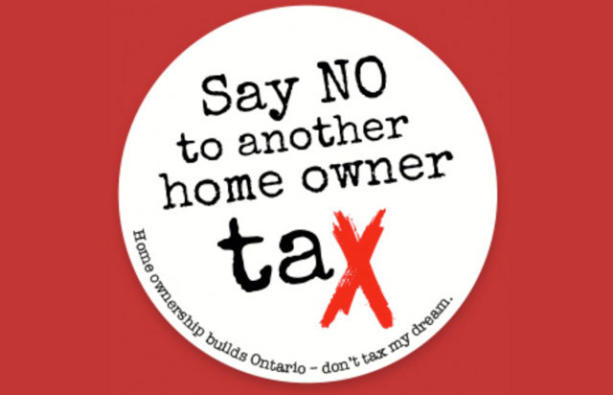 Ontario Threatening to Implement a Municipal Land Transfer Tax